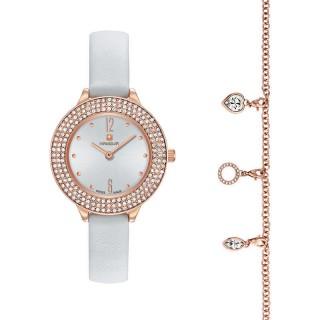 Ženski Hanowa Swiss Alessia Roze Zlatni Beli ručni sat