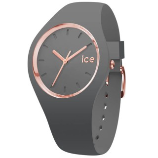 Ženski Ice Watch Glam Colour Grey 3H Sivi Roze Zlatni Sportski Ručni Sat