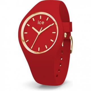 Ženski Ice Watch Glam Colour Red Crveni Zlatni Sportski Ručni Sat