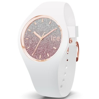 Ženski Ice Watch Ice Lo White Pink Roze Kvarc Sportski Ručni Sat