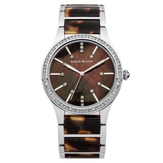 Ženski Karen Millen Zlatni Modni Braon ručni sat