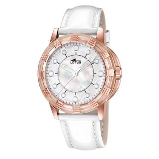 Ženski Lotus Glee Sedef Roze Zlatni Modni ručni sat