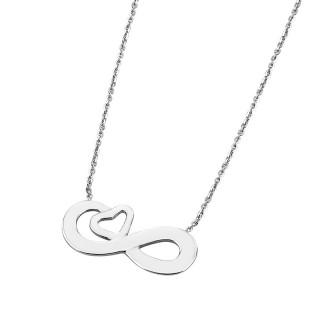 Ženski Lotus Silver Moments Beskonačna Ljubav srebrni Lančić