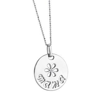 Ženski Lotus Silver Moments Cvet srebrni Lančić sa Mama priveskom