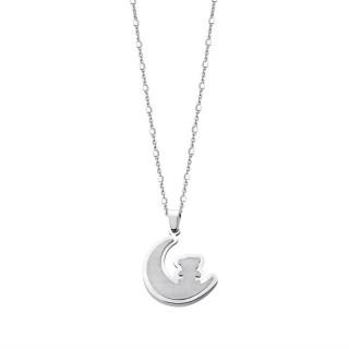 Ženski Lotus Silver Pure Essential Srebrni Lančić Meda Na Mesecu