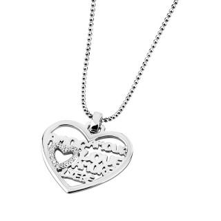 Ženski Lotus Silver Rineia Amor srebrni Lančić