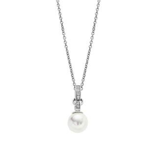 Ženski Lotus Style Pearls Lančić Od hirurškog Čelika Kristal Biser