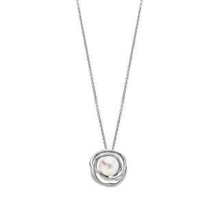 Ženski Lotus Style Pearls Lančić Od hirurškog Čelika Galaksija Bisera