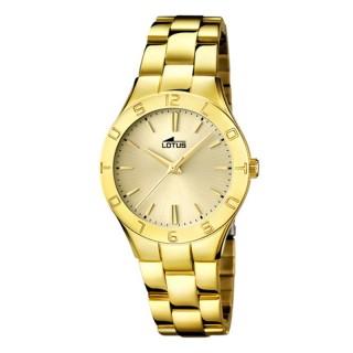 Ženski Lotus Trendy Zlatni Elegantni ručni sat