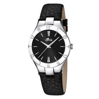 Ženski Lotus Trendy Crni Elegantni ručni sat