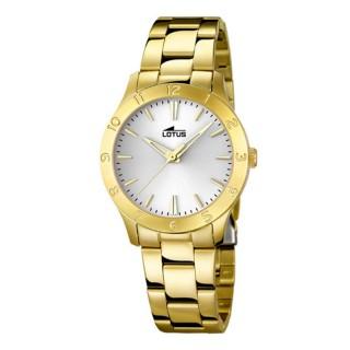 Ženski Lotus Trendy Zlatni Beli Elegantni ručni sat