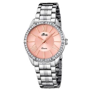 Ženski Lotus Trendy Quartz Roze Srebrni Modni ručni sat