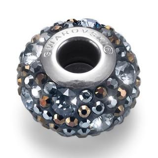 Ženski Oliver Weber Multi Jet Hematiteatite privezak sa swarovski sivim kristalom za narukvicu