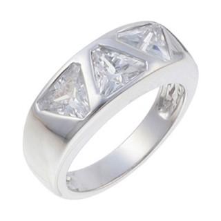 Ženski Oliver Weber Galaxy Crystal prsten sa swarovski belim kristalom