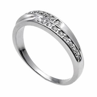 Ženski Oliver Weber Real Crystal Prsten Sa Swarovski Belim Kristalom 57 mm