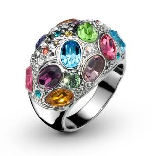 Ženski Oliver Weber Orient Multi Prsten Sa Swarovski Kristalom 62 mm