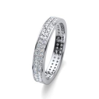 Ženski Oliver Weber Value 925 AG Crystal Srebrni prsten sa swarovski belim kristalom