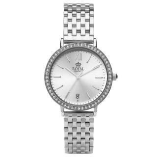 Ženski Royal London Grace Srebrni Elegantni ručni sat sa metalnim kaišem