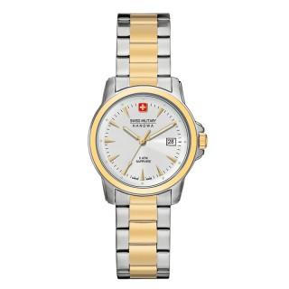 Ženski Swiss Military Swiss Recruit Prime Beli Zlatni Elegantni ručni sat